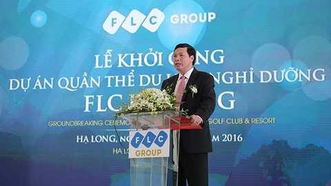 Ông Nguyễn Đức Long, Phó Bí thư Tỉnh ủy, Chủ tịch UBND tỉnh Quảng Ninh phát biểu tại Lễ Khởi công.