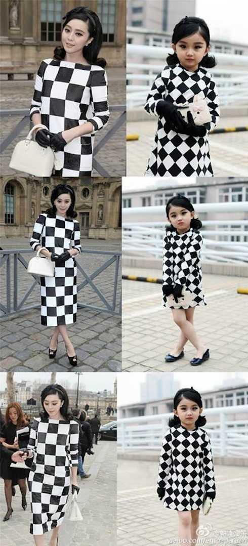 Cách đây không lâu, cô bé Fan Ye đã có màn cosplay giống hệt Phạm Băng Băng gây sốt trên cộng đồng mạng Trung Quốc.