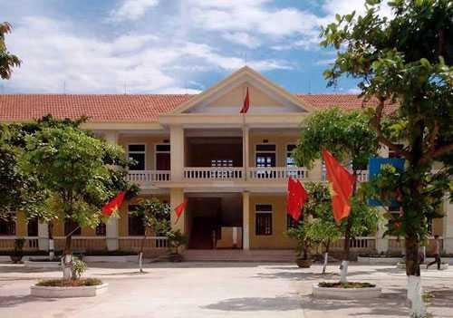 Trường THCS Phong Bắc – nơi thầy D. công tác