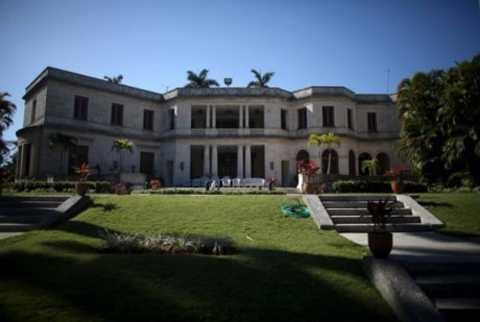 Ngôi biệt thự nổi tiếng ở Lahabana là nơi gia đình Tổng thống Mỹ ở trong suốt chuyến thăm