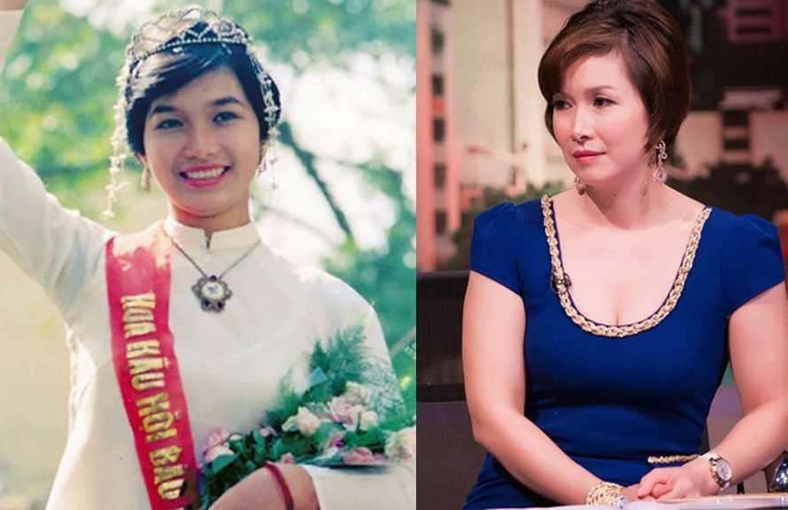 Hoa hậu Bùi Bích Phương đã ở tuổi 45 nhưng vẫn toát lên vẻ quý phái.