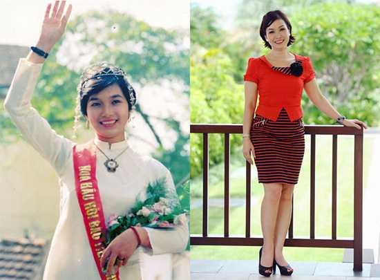 Ở tuổi U50, Hoa hậu Bích Phương vẫn giữ được thân hình thon thả và vẻ trẻ trung nhờ mái tóc ngắn.