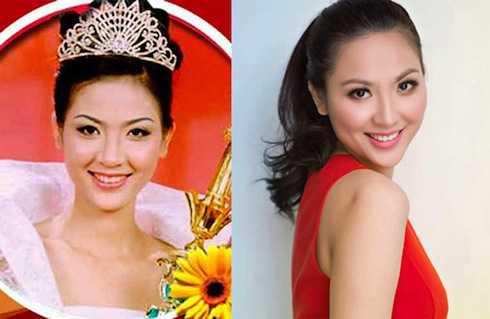 Hoa hậu Phan Thu Ngân vẫn đẹp rạng rỡ tuổi 30.