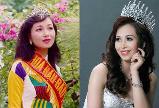 Nhiều năm sau khi đăng quang, Hoa hậu Diệu Hoa đã không còn vẻ chân chất.