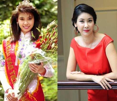 Sau khi kết hôn với người chồng mới, nhan sắc Hoa hậu Việt Nam 1992 ngày càng viên mãn, trẻ trung.