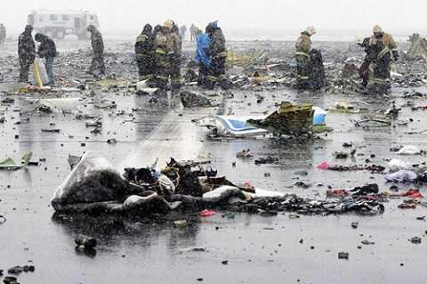 Chuyến bay đã cướp đi sinh mạng của 62 người