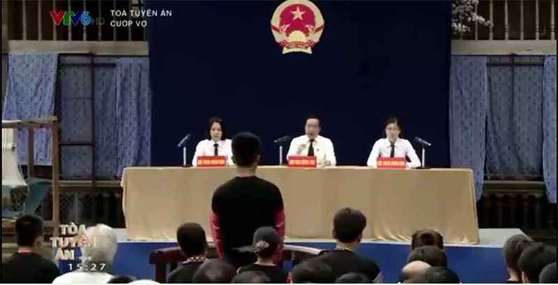 Chương trình Tòa tuyên án - Cướp vợ trên kênh VTV6