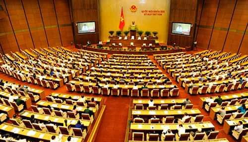 Sau khi nhậm chức Chủ tịch nước, Thủ tướng, Chủ tịch Quốc hội sẽ tuyên thệ trước Quốc hội