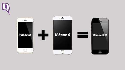 Đây là một sản phẩm con lai giữa iPhone 5S và iPhone 6. hiết bị này sẽ sở hữu màn hình với mặt kính cong đồng thời vẫn có nút Home vật lý quen thuộc tích hợp cảm biến vân tay TouchID. Trang Phonearena nhận định hình ảnh rò rỉ khá trùng khớp với các mẫu bản vẽ, ảnh dựng được cho là của iPhone 4 inch mới bị lộ  trước đó.