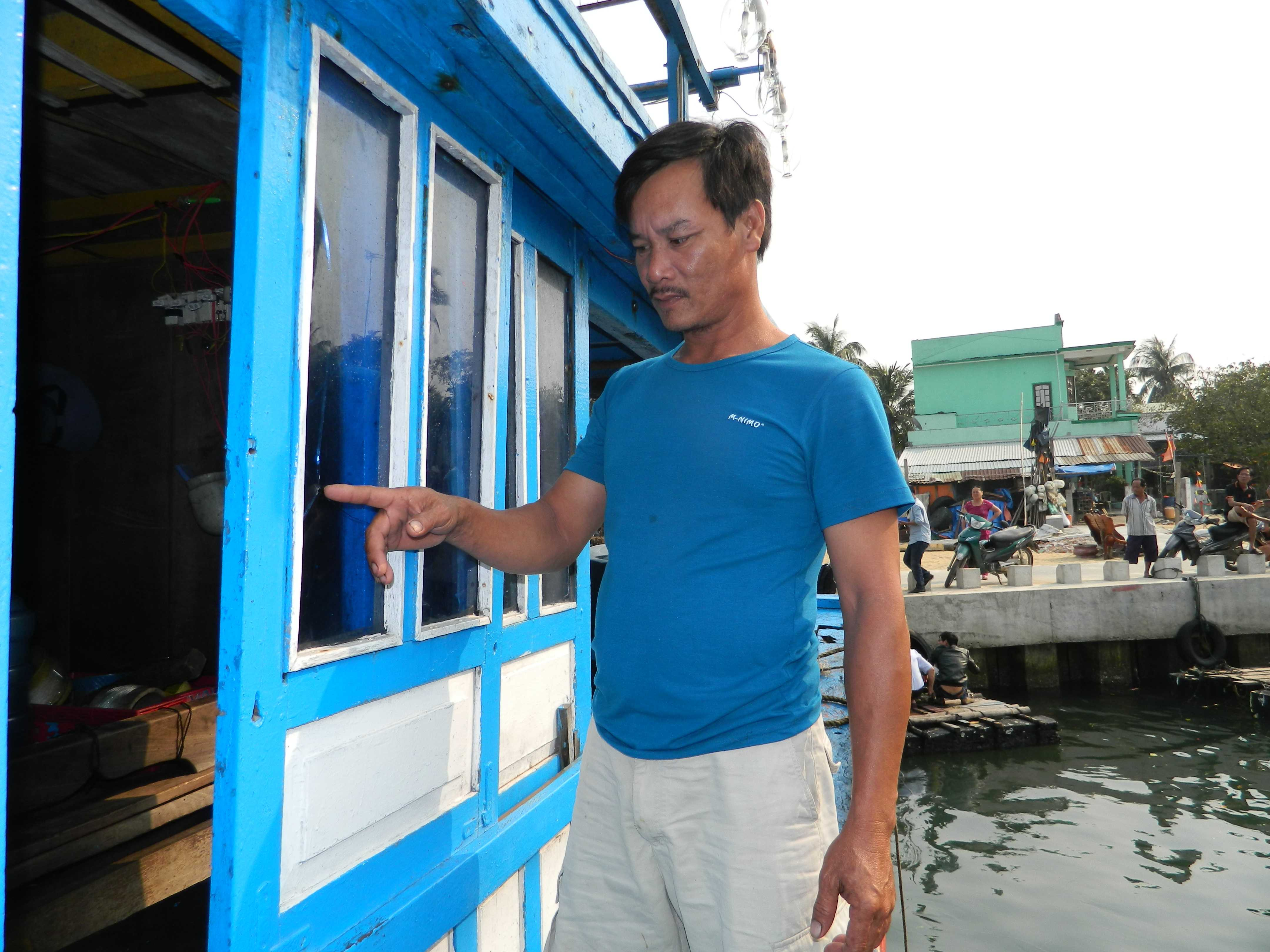 Anh Võ Lực, thuyền phó tàu cá QNa 91865 TS mong muốn lực lượng chức năng tiếp sức cho ngư dân được an tâm bám biển.