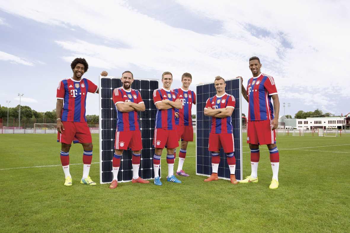 Yingli Solar kết hợp với Bayern Munich
