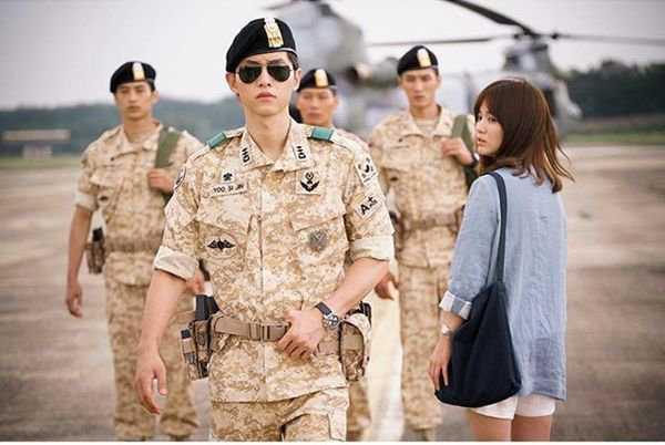 Hình ảnh đốn gục trái tim nhiều cô gái của Song Joong-ki