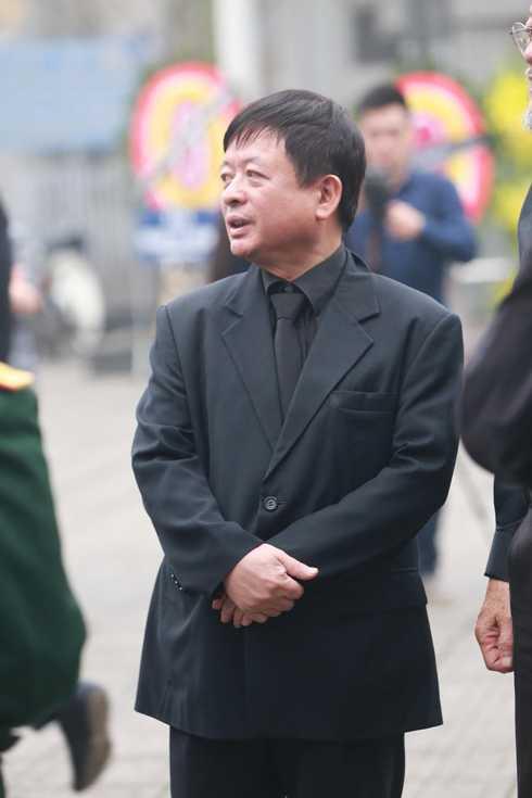 Chủ tịch Hội nhạc sĩ Việt Nam - nhạc sĩ Đỗ Hồng Quân - có mặt từ rất sớm
