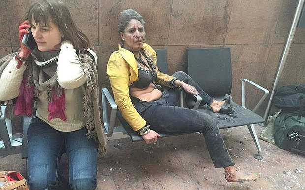 Nạn nhân bị thương sau các vụ nổ