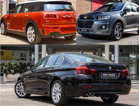 hàng loạt mẫu xe mới xuất hiện.