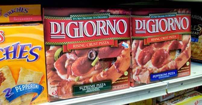 Thương hiệu pizza DiGiorno của Nestle - Ảnh: Bloomberg.