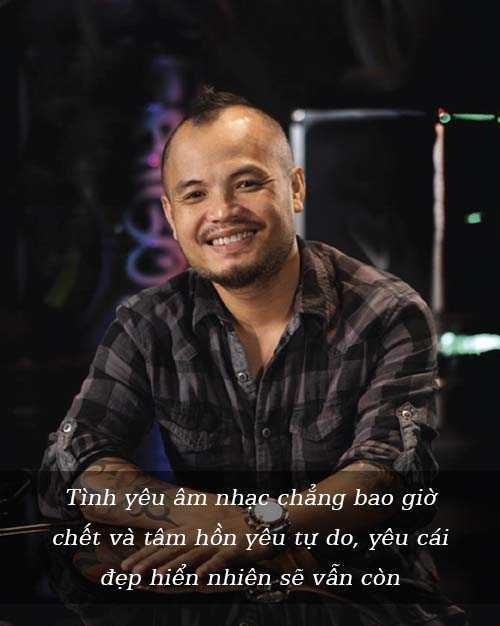 Rocker Trần Lập luôn giữ nụ cười lạc quan trong cuộc sống