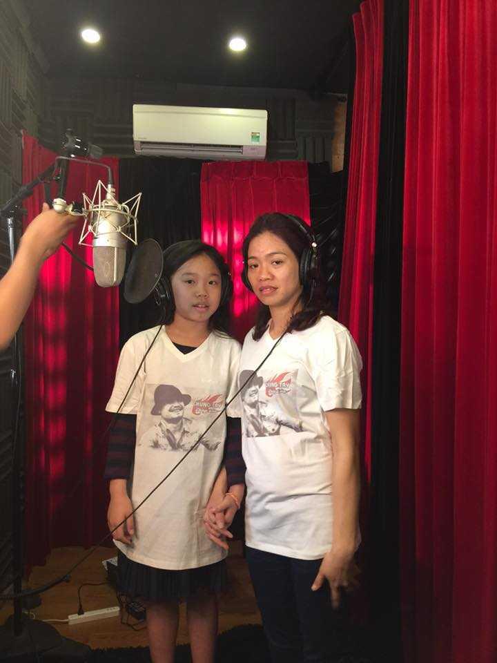 Vợ và con gái Trần Lập cùng tham gia trong MV