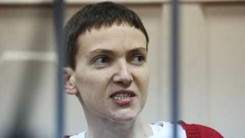 Nữ phi công người Ukraine, Nadiya Savchenko. (Nguồn: news-front.info)