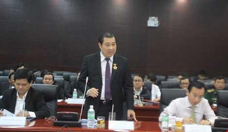 Ông Huỳnh Đức Thơ là Chủ tịch UBND TP kiêm Phó Bí thư Thành ủy Đà Nẵng. Ảnh: LÊ PHI