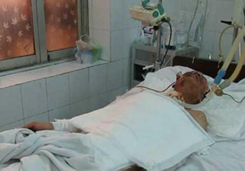 Anh Thủy là tài xế xe tải, nạn nhân trong vụ nổ kinh hoàng khu đô thị Văn Phú, Hà Đông, Hà Nội.