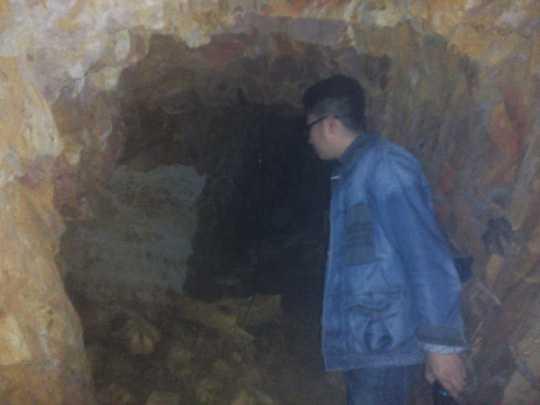 Căn hầm có nhiều ngóc ngách