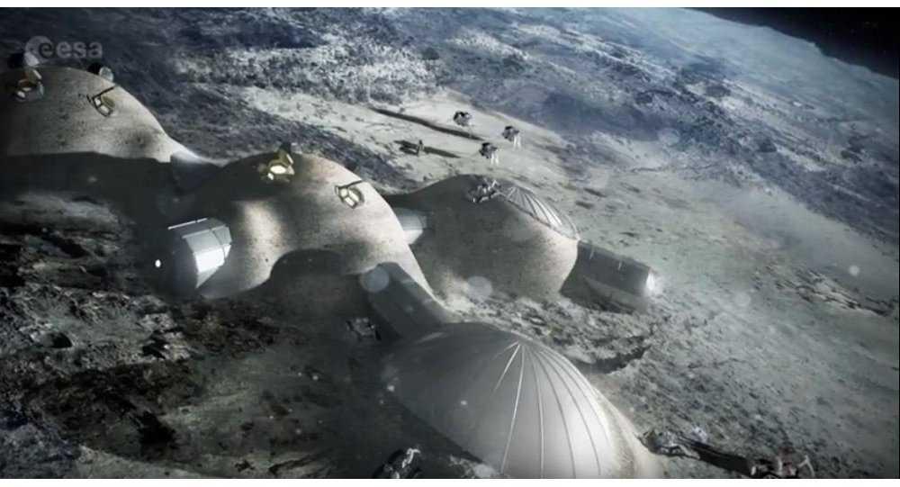 Minh họa cho dự án làng Mặt Trăng