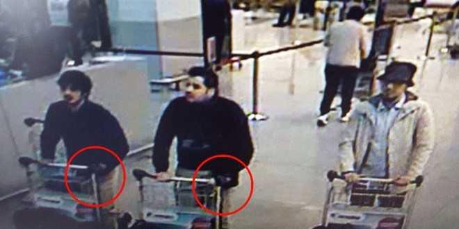 Các nghi phạm khủng bố tại sân bay Zaventem