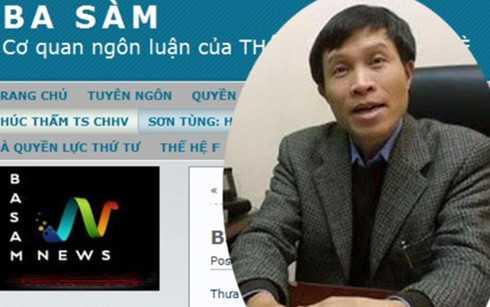 Bị cáo Nguyễn Hữu Vinh tự blogger Anh Ba Sàm.