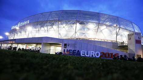 Allianz Riviera là một trong những sân vận động tổ chức Euro 2016