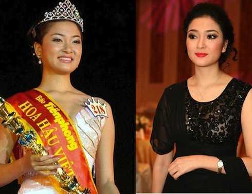 Hoa hậu Nguyễn Thị Huyền được ca tụng nhờ vẻ đẹp