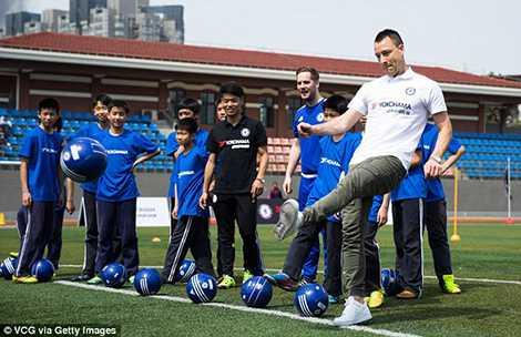 Trực tiếp hướng dẫn kỹ năng sút/chuyền bóng cơ bản