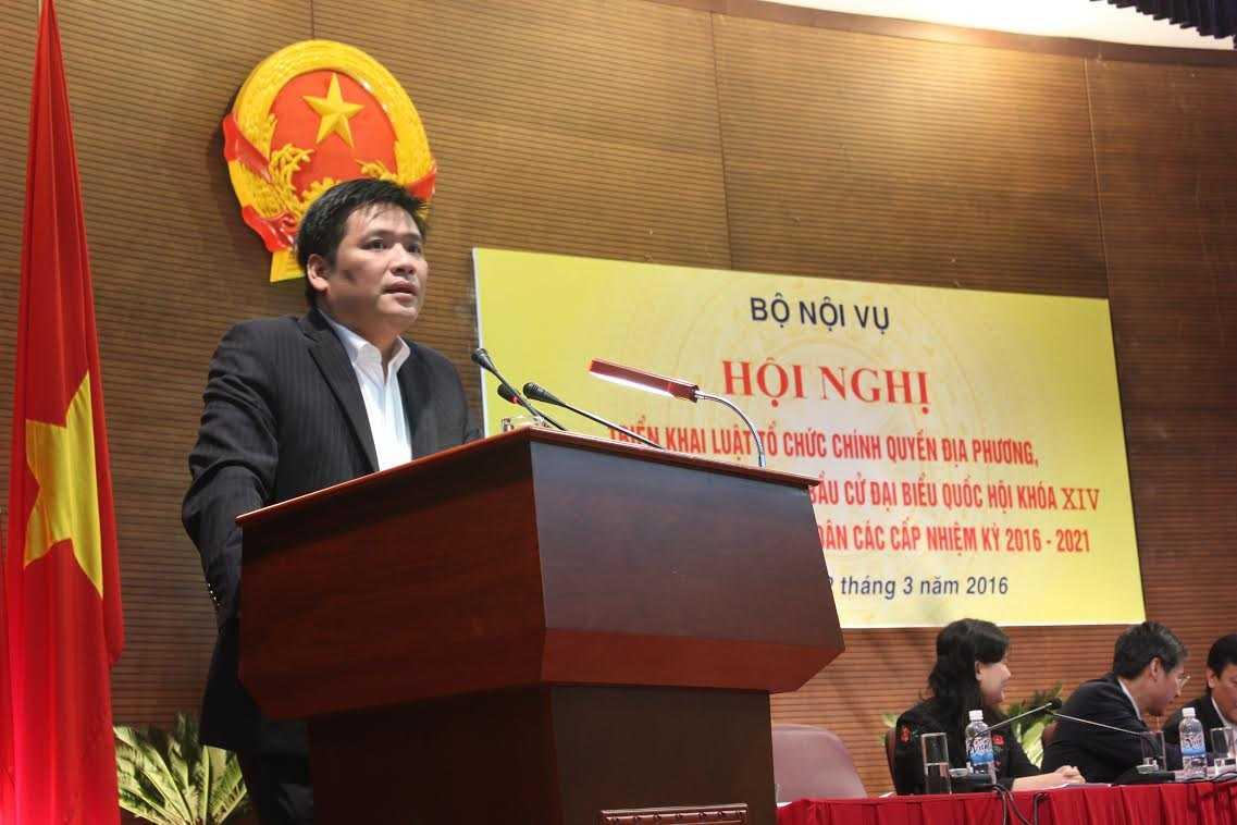 Phó vụ trưởng Vụ Công tác cán bộ, Ban Tổ chức TƯ Nguyễn Thanh Bình