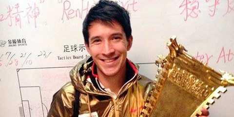Xavier Chen được gọi là 'cầu thủ minh tinh' ở Đài Loan