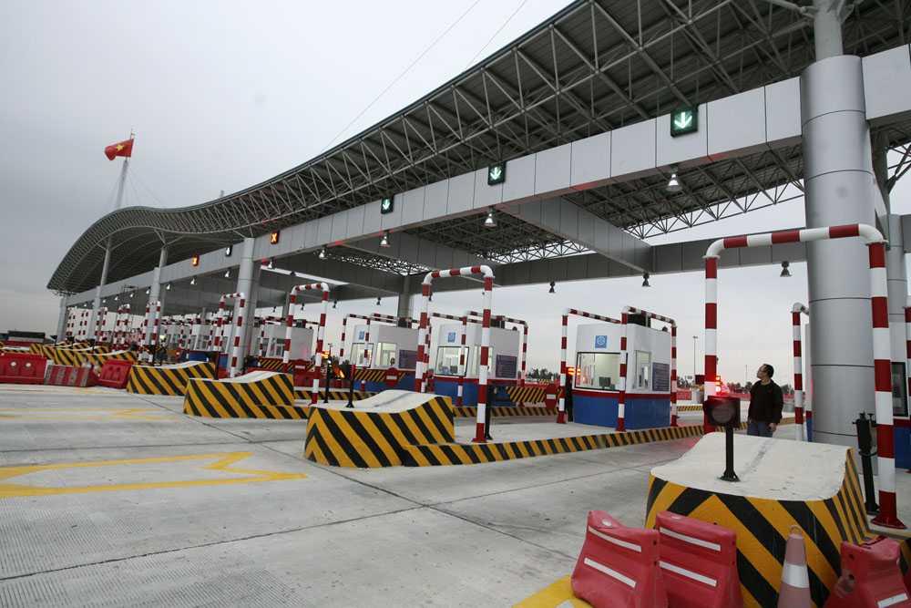 Từ 1/4/2016, mức phí trên cao tốc Hà Nội - Hải Phòng sẽ tăng thêm 25% so với hiện nay (Ảnh minh họa internet)