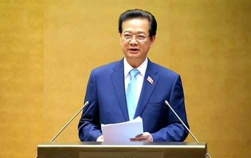 Theo chương trình kỳ họp 11, ngày 6/4, Quốc hội sẽ miễn nhiệm Thủ tướng Nguyễn Tấn Dũng.