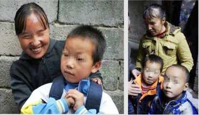 Hai anh em Lưu Hải Hoa và Lưu Hải Hồng có cha mẹ đều là người khiếm thị.
