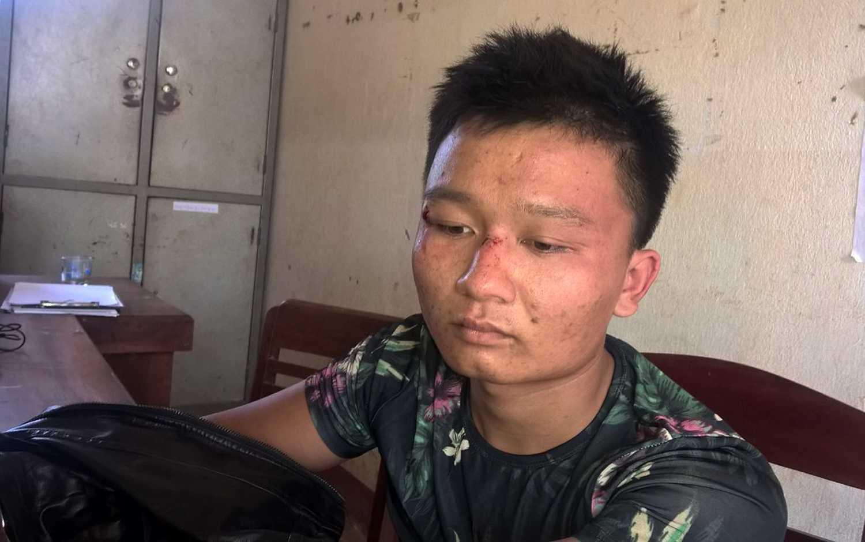 Sau khi trốn khỏi nơi giam giữ Nghĩa tiếp tục lên Đà Lạt thực hiện hành vi trộm xe máy và bị bắt khi đang tiêu thụ tang vật tại tỉnh Đắc Nông.