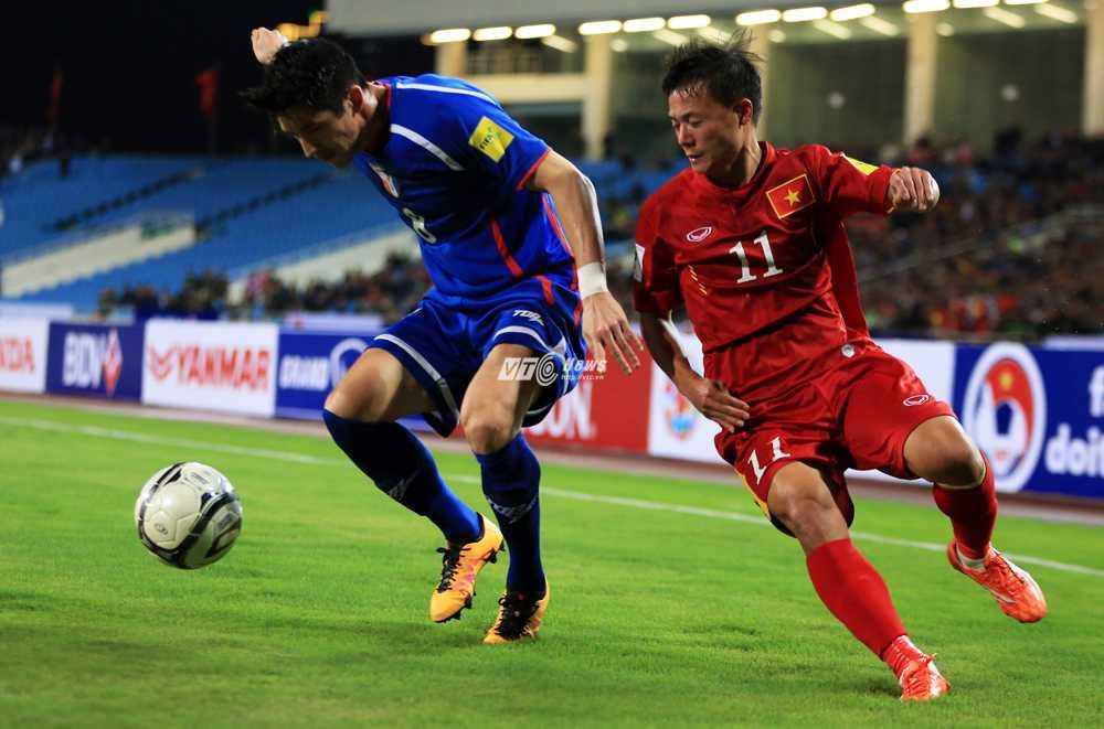 Đài Loan thua Việt Nam 1-4 (Ảnh: Phạm Thành)