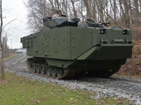 ACV - Xe tác chiến thủy bộ phiên bản cập nhật trị giá 1,65 triệu USD/chiếc