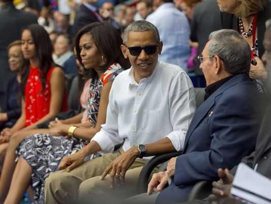 Tổng thống Mỹ Barack Obama giữ nguyên lịch trình tại Cuba