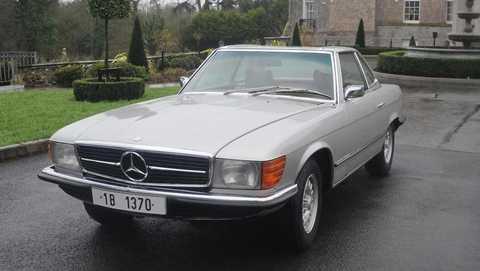 Mercedes-Benz SL 350 của ông Ceausescu được bán đấu giá 55.000 USD