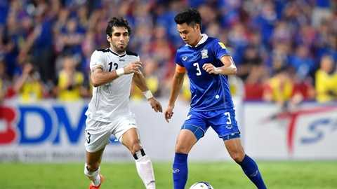 Thái Lan một lần nữa cầm hòa Iraq 2-2