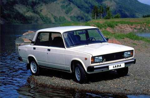 Lada Classic, biểu tượng một thời của xe Liên Xô.