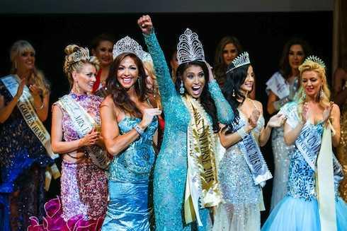 Cuộc thi Mrs Universe 2015.