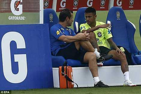 Neymar là trụ cột quan trọng của đội tuyển Brazil