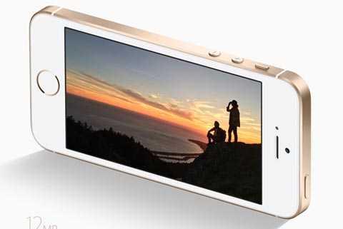 iPhone SE có camera sau gần tương tự iPhone 6s.