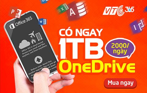 Hình ảnh hiếm hoi VTC Intecom để lộ về việc bán sản phẩm Office 365 trên VTC365