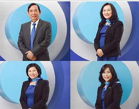 Dàn lãnh đạo trong ban Kiểm soát ngân hàng ACB