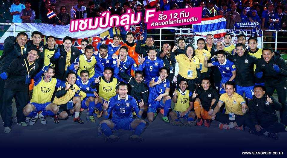Thái Lan đường hoàng bước vào vòng loại cuối cùng với ngôi nhất bảng